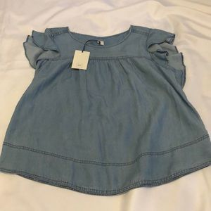 NWT, Gap Denim Blouse